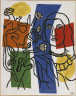 Fernand Leger / Girl with Plant / 1954
