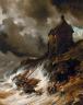 Eug?ne-Louis-Gabriel Isabey / The Wreck / 1854