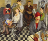 Isaac Soyer / Art Beauty Shoppe / 1934