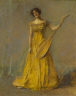Thomas Wilmer Dewing / The Singer / date unknown