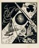 Wassily Kandinsky / Small Worlds VI (Kleine Welten VI) / Weimar, 1922