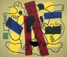 Fernand Leger / The Divers (Red and Black) / 1942
