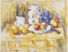 Paul Cezanne / Still Life with Apples on a Sideboard / 1900-1906