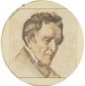 Gustave Courbet / Portrait of Regis Courbet, the Artist's Father / 1848-1849