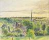 Camille Pissarro / Landscape at Eragny / 1890
