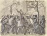 Camille Pissarro / Urban Uprising in Paris / 1870