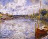 Pierre-Auguste Renoir / The Seine at Chatou / 1874