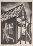 Coreen Mary Spellman / House Under Construction / c. 1950