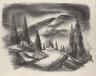Coreen Mary Spellman / Untitled (mountain road) / 1945