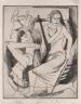 Coreen Mary Spellman / Untitled (dancers) / 1947
