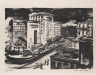 Coreen Mary Spellman / City Street (Street Scene) / 1942