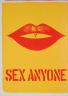 Robert Indiana / Sex Anyone (tirée de l'album «1 ø Life», 1964) / 1964