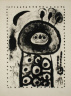Joan Miro / Fillette dans le bois / 1958
