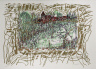 Jean-Paul Riopelle / Sans titre (tirée de l'album « Les Saisons de St-Cyr », 1984) / 1984