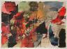 Jean-Paul Riopelle / Couverture du livre «Foyers d'incendie» de Nicolas Calas / 1946