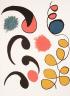 Pierre Alechinsky / Formes de l'écriture (tirée de l'album «Alechinsky, Calder, Miro, Riopelle», 1976) / 1976