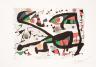 Jean-Paul Riopelle / Force des forêts (tiré de l'album «Alechinsky, Calder, Miro, Riopelle», 1976) / 1976