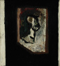 Jean-Paul Mousseau / Sans titre (Autoportrait) / 1945