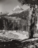 Philip Hyde / Cathedral Peak (Christmas 1946 card) / 1946