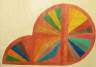 Frank Stella / Untitled (Fan Protractor Variation) / 1967