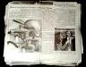 Robert Gober / Newspaper / 1992