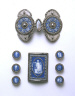 Josiah Wedgwood and Sons / Belt Buckle / Possibly about 1810