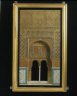 Don Raphael Contreras / MODEL OF AN ARCH in the palace of the Alhambra / about 1865