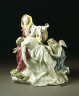 Chelsea Porcelain Factory / PIETA (the Virgin mourning the dead Christ) / 1756 - 1758
