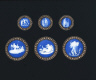 Josiah Wedgwood and Sons / BUTTONS / About 1785-1800