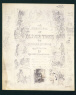 George Cruikshank / DRAFT TITLE PAGE FOR 'OLIVER TWIST' / about 1846