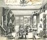 Christopher Gibson / UPHOLSTERER'S TRADE CARD / 1730-1742