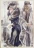 George Grosz / Couple / 1934