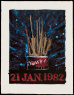 Jasper Johns / Savarin / 1982