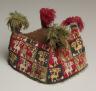 Peru, South Coast, Wari Culture, Middle Horizon, 8th-11th Century / Four-Cornered Hat / c. 700-1100 A.D.