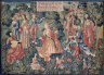 France, early 16th century / Chateau de Chaumont Tapestry Set: Youth / 1500-1510
