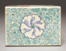 Japan, Edo Period (1615-1868) / Pillow with Fan and Floral Decoration: Kakiemon Type / Late 17th century