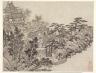 Shen Zhou / Twelve Views of Tiger Hill, Suchou: Cloud-Climbing Pavilion / after 1490