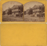 S. T. Blessing / Webster and Jefferson schools Dryades Street / ca. 1875