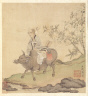 Chen Hongshou / Paintings after Ancient Masters: Lao-tzu Riding an Ox / 1598-1652