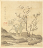 Chen Hongshou / Paintings after Ancient Masters: Narcissus and Bare Trees / 1598-1652