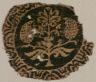 Syria, Umayyad or Abbasid period, 8th century / Fragment of a Segmentum with Palmette Tree / 8th century