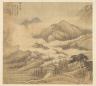 Song Xu / Eighteen Views of Wuxing:  Guiyun Monastery / 1500s