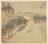 Song Xu / Eighteen Views of Wuxing:  The Lüshan Shore / 1500s