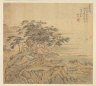 Song Xu / Eighteen Views of Wuxing:  Jade-terrace Peak / 1500s