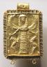 Eastern Greece, Rhodian, 7th Century BC / Daedalic Pendant with Potnia Theron (Mistress of the Animals) / 650-600 BC
