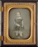 Unidentified Photographer / Child with Drum / 1850s