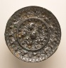 China / Mirror (Jing) with Grapevines, Birds, and Lions / Middle Tang dynasty, about 700-800