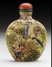 China / Snuff Bottle / Late Qing dynasty, about 1800-1911