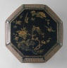 China / Octagonal Food Box (Bajiao He) with Birds and Flowers / Qing dynasty, Kangxi period, 1675