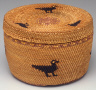 Qwidicca'atx  (Makah) / Basket / late 19th-early 20th  century